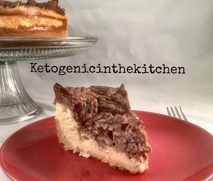 Keto Pecan Pie Cheesecake